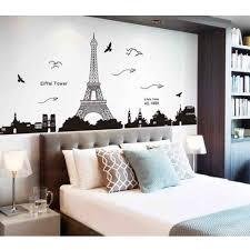 decorating a bedroom wall. Unique Bedroom Bedroom Wall Decor With Eifel Tower With Decorating A Wall F