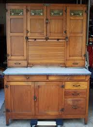 Wilson Kitchen Cabinet Hoosier Oak Hoosier Wilson 48 Wide Oak Cabinet W Flour Meal Bin 9 Pc
