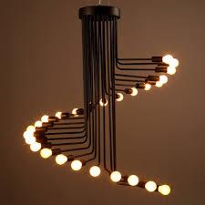 metal lighting. Vintage Industrial Loft Lighting Pendant Creative Lights Black Metal Hanging Light Fixture 110v/220v Lampadario Industrial-in From