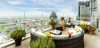 rooftop bars and alfresco terraces in