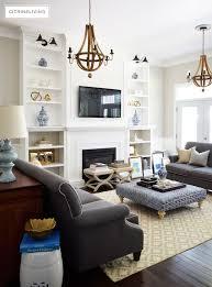 Living Room Bookshelves Citrineliving Living Room Bookshelves