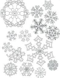 Snow Flake Coloring Pages Coloring Page Of A Snowflake Printable