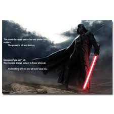 Darth Vader Quotes Delectable Darth Vader Quotes Star Wars 48 The Force Awakens Movie Art Silk