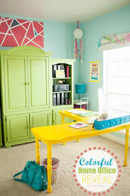 colorful home office.  Home To Colorful Home Office C