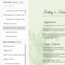 restaurant menu maker free imenupro how to make a restaurant menu change your menu design