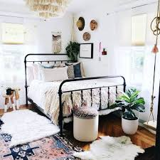 boho chic eclectic small bedroom ideas