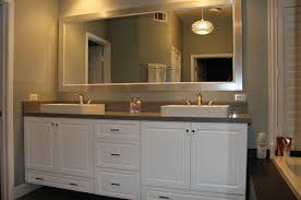 double sink bathroom mirrors. Custom, Double Sink Vanity, Whits Cabinets, Pendents Lighting, Big Bathroom Mirrors R