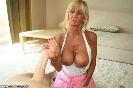 Granny give hand job