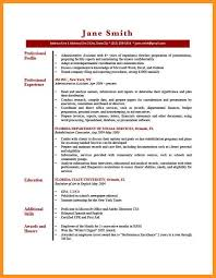 9 10 Profile Summary For Resume Examples Wear2014 Com