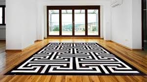 black and white geometric rug. geometric pattern black and white cowhide area rug - posh rug youtube t