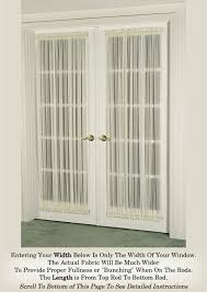 french doors curtains. Exellent French Inside French Doors Curtains O