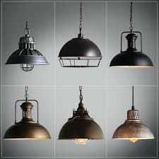 industrial chic lighting. Industrial Pendant Lighting For Kitchen Lamp Retro  Vintage Iron Lights Fixtures Loft . Chic