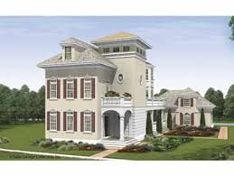 Three Story Home Plans at Dream Home Source   Three Story Homes        as well as larger properties that can handle a home   a commanding presence  three story house plans provide an ideal way to make bigger even better