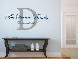 personalised family name wall sticker on personalised family name wall art with personalised family wall decor ideas aspect wall art stickers