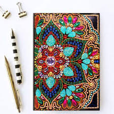 Diy Journal Cover Design Ideas Diy Diamond Painting Cover Notebook Journal For Journaling Writing Note Taking Diary And Planner A5 Diy Diamond Painting 64 Pages Notebook Diary Book