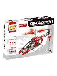 Базовый 3D-<b>Конструктор SDL KID-CONSTRUCT</b> Вертолет, 211 ...