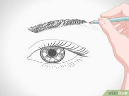 How To Draw Eyes Step By Step How To Draw A Realistic Female Eye 15 Steps With Pictures