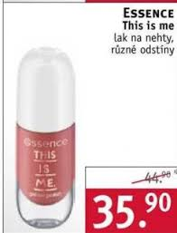 Essence This Is Me Lak Na Nehty