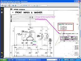 car wiper wiring diagram car image wiring diagram windshield wiper motor wiring rx7club com on car wiper wiring diagram