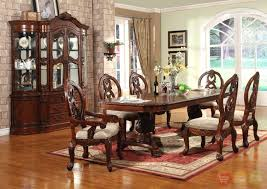 cherry wood dining table and chairs elegant formal dining room furniture set ronsealfo