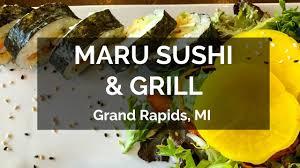 vegan voyagers eat maru sushi grill grand rapids mi