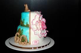 Custom Cakes By Stef 2 In 1 Mountainoversized Flower