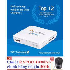 Shop bán Hộp Android Tivi Box VNPT SMARTBOX 2 + Tặng Chuột RAPOO 1090PRO  siêu nhạy 300K