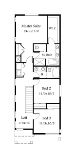 Craftsman Style House Plan 3 Beds 2 50 Baths 3621 Sqft 509 35 Bed