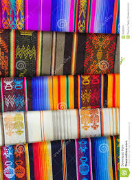 Patterned Blankets Unique Brightly Coloured Patterned Alpaca Blankets Stock Image Image Of