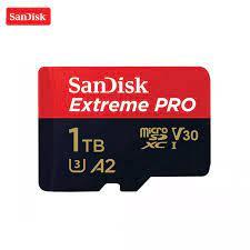 ♥Thanh Toán Khi Nhận Hàng + Thẻ Nhớ SanDisk Extreme Pro 1TB Chính Hãng 100%  Chính Hãng 100% Thẻ Nhớ Micro Sd Class 10 Thẻ Nhớ Tf U3 A2 V30 1TB, Cho UAV
