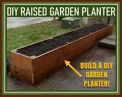 raised garden planter bed gardening