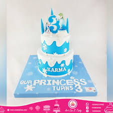 Frozen Themed Birthday Cake Order Online From Eventy
