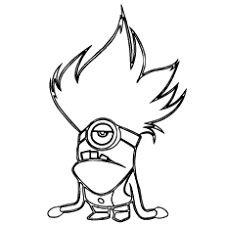 Small Picture Coloring Page Free Printable Minion Coloring Pages Coloring