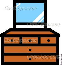 bedroom furniture clipart. dresser bedroom furniture clipart r