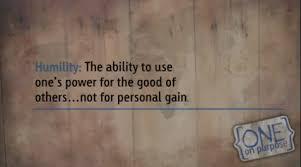 success bestow humility essay