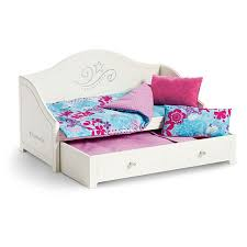 American Girl Trundle Bed & Bedding Set