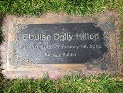Elouise Dolly Hilton (1936-2012) - Find A Grave Memorial