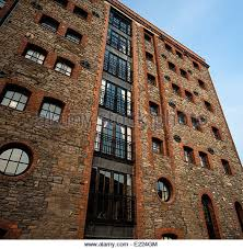 Victorian Warehouse converted into Apartments - Stock Image