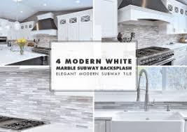 kitchen backsplash subway tile. WHITE MODERN KITCHEN WITH MARBLE SUBWAY TILE Kitchen Backsplash Subway Tile W