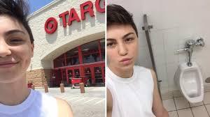 this teen took a selfie in target s bathroom and it went viral