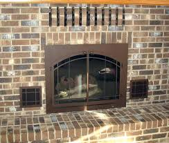 gas fireplace covers covers for gas fireplace vents fireplaces unused glass doors vent innovative ideas outdoor