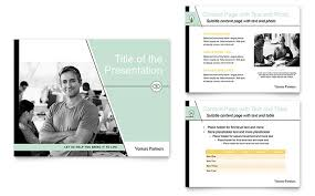 powerpoint biography venture capital firm powerpoint presentation template design