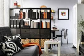 ... Shelving Room Dividers Ikea Kallax Shelf Charming Ikea Narrow Bookcase  Wall Bookshelves Black Bookcase