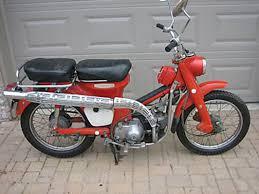 1967 trail 90 k0 later model left side