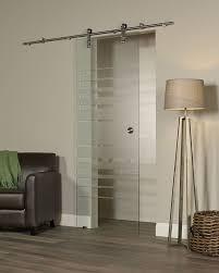 glass barn doors. Glass Barn Door - Silhouette Style Doors M