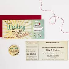 16 best wedding invitations images on pinterest wedding Wedding Invitations On The High Street wedding festival wedding invitation wedding invitations not on the high street