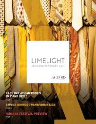 Actors Theater Louisville Seating Chart Limelight Newsletter Winter 2017 Issue By Actors Theatre Of