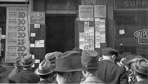 Looking For A Job During The Great Depression Ephemeral New York