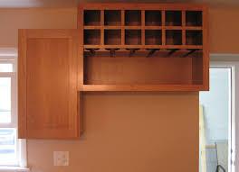 furniture divine kitchen wine rack design featuring brown varnished storage refrigerators oak wood horizontal and shelf
