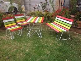 60s retro outdoor setting in Home & Garden, Furniture, Outdoor Furniture |  eBay